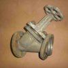 13тн2п DN50 PN11.2 Клапан запорный титановый фланцевый прямоточный