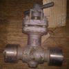 15с66п DN15 PN40 Клапан запорный стальной цапковый сильфонный