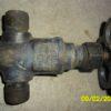 15с9бк DN10 PN100 Клапан запорный стальной цапковый