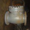 19с53нж (типа)  DN300 PN75 Клапан обратный стальной поворотный фланцевый