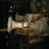 22нж40п DN150 PN40 Клапан запорный из нержавеющей стали фланцевый отсечной с МИМ
