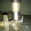 22нж82нж DN10 PN200 Клапан запорный из нержавеющей стали фланцевый угловой