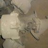 22с628п DN80 PN16 Клапан запорный стальной фланцевый отсечной НЗ с пневмоприводом