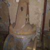 30тн12п DN200 PN25 Задвижка титановая фланцевая  штампосварная