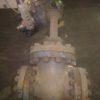 31с916нж DN150 PN100 Задвижка стальная фланцевая под электропривод