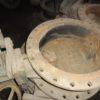 32ч926р DN500 PN10 Затвор дисковый поворотный  чугунный фланцевый  с двойным  эксцентриситетом  под электропривод
