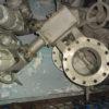 32с910п DN200 PN10 Затвор дисковый поворотный  стальной фланцевый  с двойным  эксцентриситетом  под электропривод