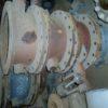 32с910р DN400 PN10 Затвор дисковый поворотный  стальной фланцевый  с двойным  эксцентриситетом  под электропривод